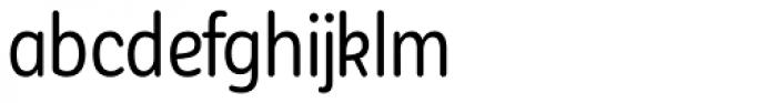 Corporative Sans Round Condensed Alt Regular Font LOWERCASE