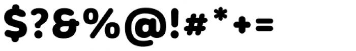 Corporative Sans Rounded Alt Black Font OTHER CHARS