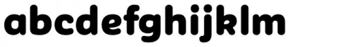 Corporative Sans Rounded Alt Black Font LOWERCASE