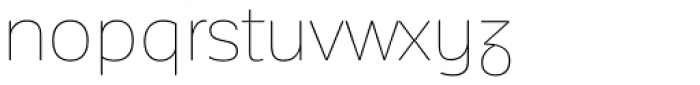 Corporative Sans Rounded Alt Hair Font LOWERCASE
