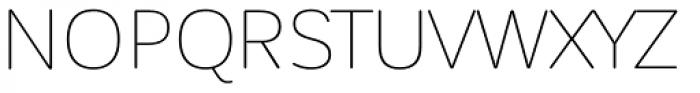 Corporative Sans Rounded Alt Thin Font UPPERCASE