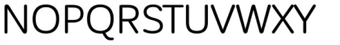 Corporative Sans Rounded Regular Font UPPERCASE