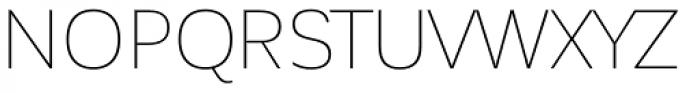 Corporative Sans Thin Font UPPERCASE