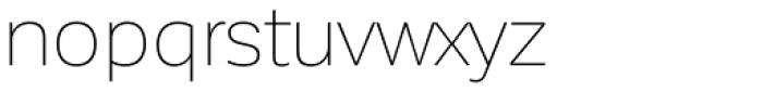 Corporative Sans Thin Font LOWERCASE