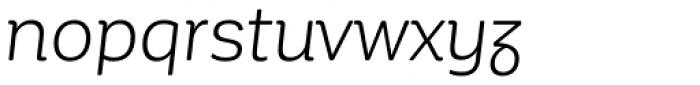 Corporative Soft Alt Book Italic Font LOWERCASE