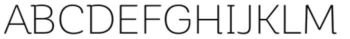 Corporative Soft Alt Light Font UPPERCASE