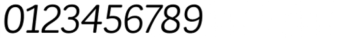 Corporative Soft Alt Regular Italic Font OTHER CHARS