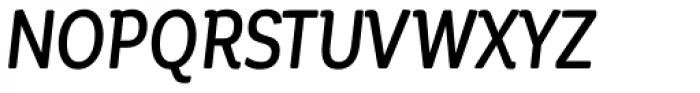 Corporative Soft Condensed Alt Medium It Font UPPERCASE