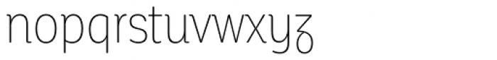Corporative Soft Condensed Alt Thin Font LOWERCASE