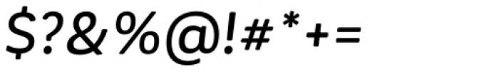 Corporative Soft Medium Italic Font OTHER CHARS