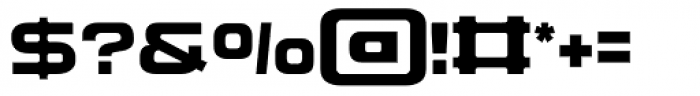 Corporatus Font OTHER CHARS