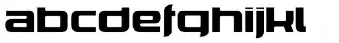 Corporatus Font LOWERCASE