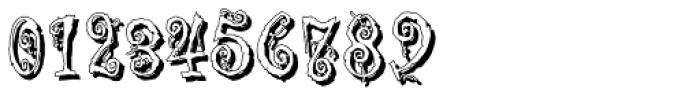 Corpse Fairy Shadow Font OTHER CHARS