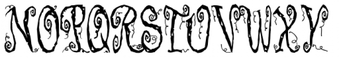Corpse Fairy Font UPPERCASE