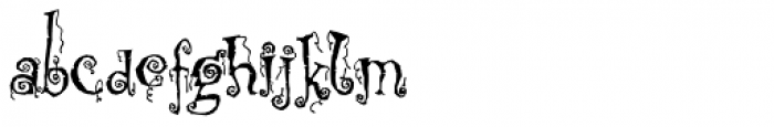 Corpse Fairy Font LOWERCASE
