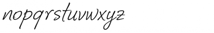 Corradine Handwriting Italic Font LOWERCASE