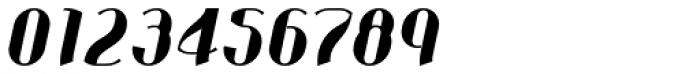 Corset Pro Black Italic Font OTHER CHARS