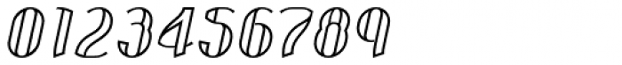 Corset Pro Inlier Italic Font OTHER CHARS