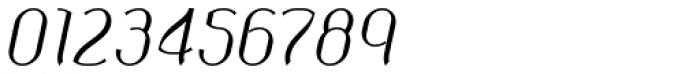 Corset Pro Light Italic Font OTHER CHARS