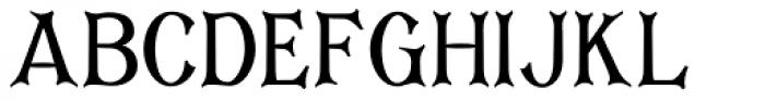 Corsham Condensed Font UPPERCASE