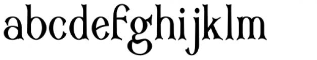 Corsham Condensed Font LOWERCASE