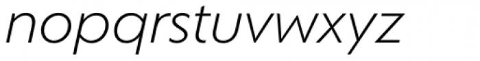Corsica LX Book Italic Font LOWERCASE