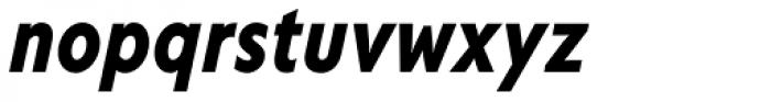 Corsica LX Cond Bold Italic Font LOWERCASE