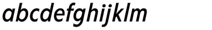 Corsica LX Cond Medium Italic Font LOWERCASE
