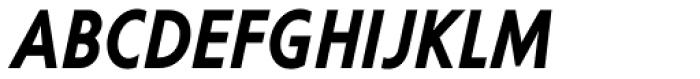 Corsica LX Cond SemiBold Italic Font UPPERCASE