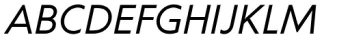 Corsica LX Italic Font UPPERCASE