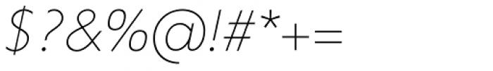 Corsica LX Light Italic Font OTHER CHARS