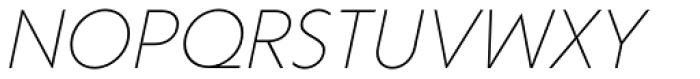 Corsica LX Light Italic Font UPPERCASE