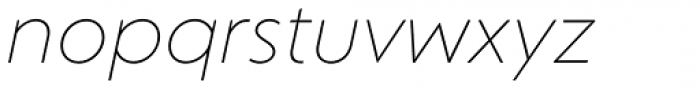 Corsica LX Light Italic Font LOWERCASE