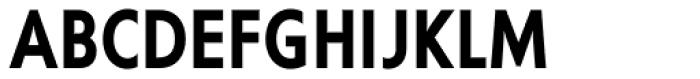 Corsica MX Cond SemiBold Font UPPERCASE