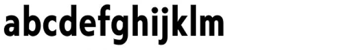 Corsica MX Cond SemiBold Font LOWERCASE