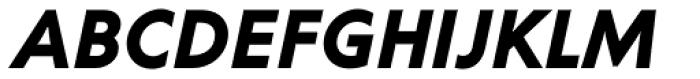 Corsica SX Bold Italic Font UPPERCASE