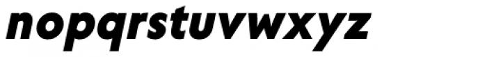 Corsica SX Bold Italic Font LOWERCASE