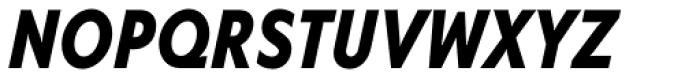 Corsica SX Cond Bold Italic Font UPPERCASE