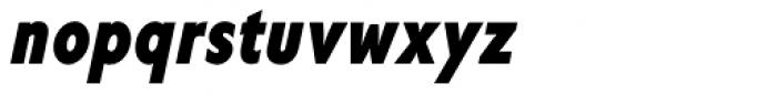 Corsica SX Cond Bold Italic Font LOWERCASE