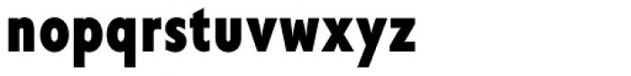 Corsica SX Cond Bold Font LOWERCASE