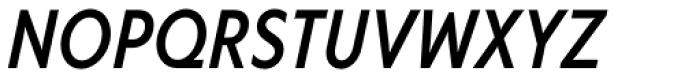 Corsica SX Cond Medium Italic Font UPPERCASE