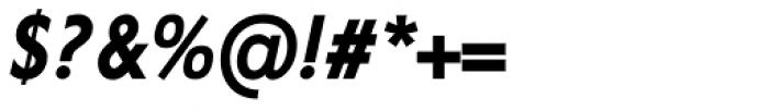 Corsica SX Cond SemiBold Italic Font OTHER CHARS