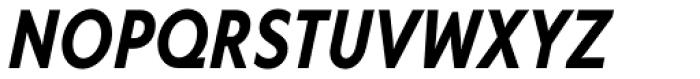 Corsica SX Cond SemiBold Italic Font UPPERCASE