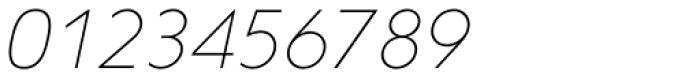 Corsica SX Light Italic Font OTHER CHARS