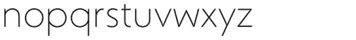 Corsica SX Light Font LOWERCASE