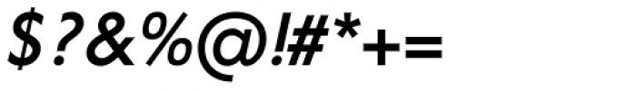 Corsica SX Medium Italic Font OTHER CHARS
