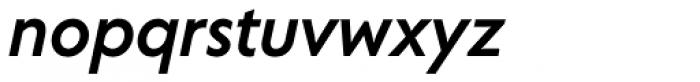 Corsica SX Medium Italic Font LOWERCASE