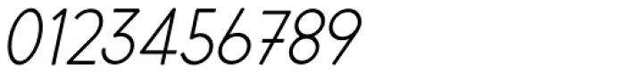 Cortex Italic Font OTHER CHARS