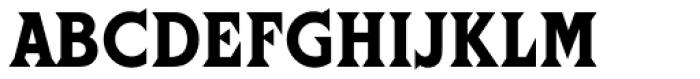 Cortez Font UPPERCASE