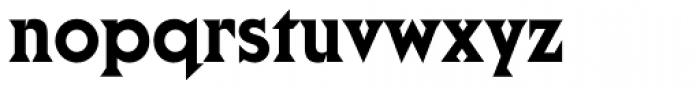 Cortez Font LOWERCASE